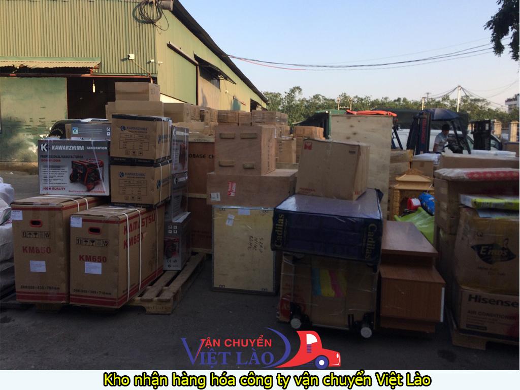 Kho nhận hàng hóa công ty vận chuyển Việt Lào