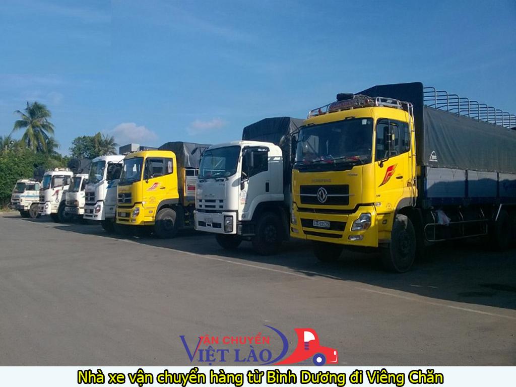 Nhà xe vận chuyển hàng từ Bình Dương đi Viêng Chăn