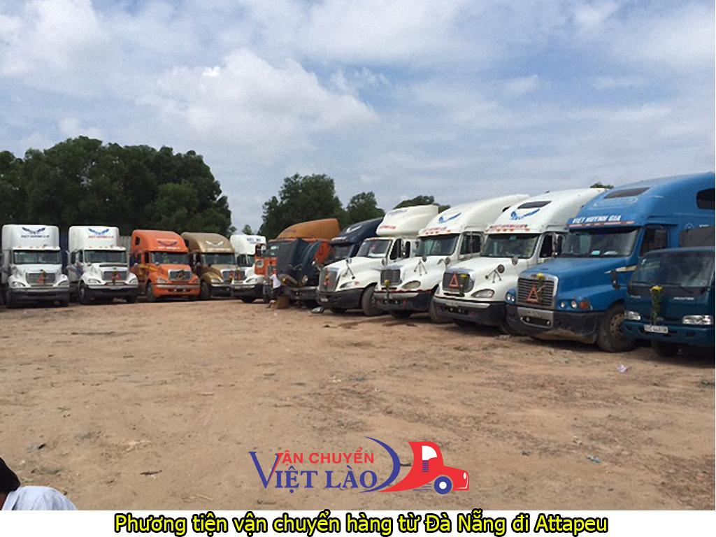 Phương tiện vận chuyển hàng từ Đà Nẵng đi Attapeu