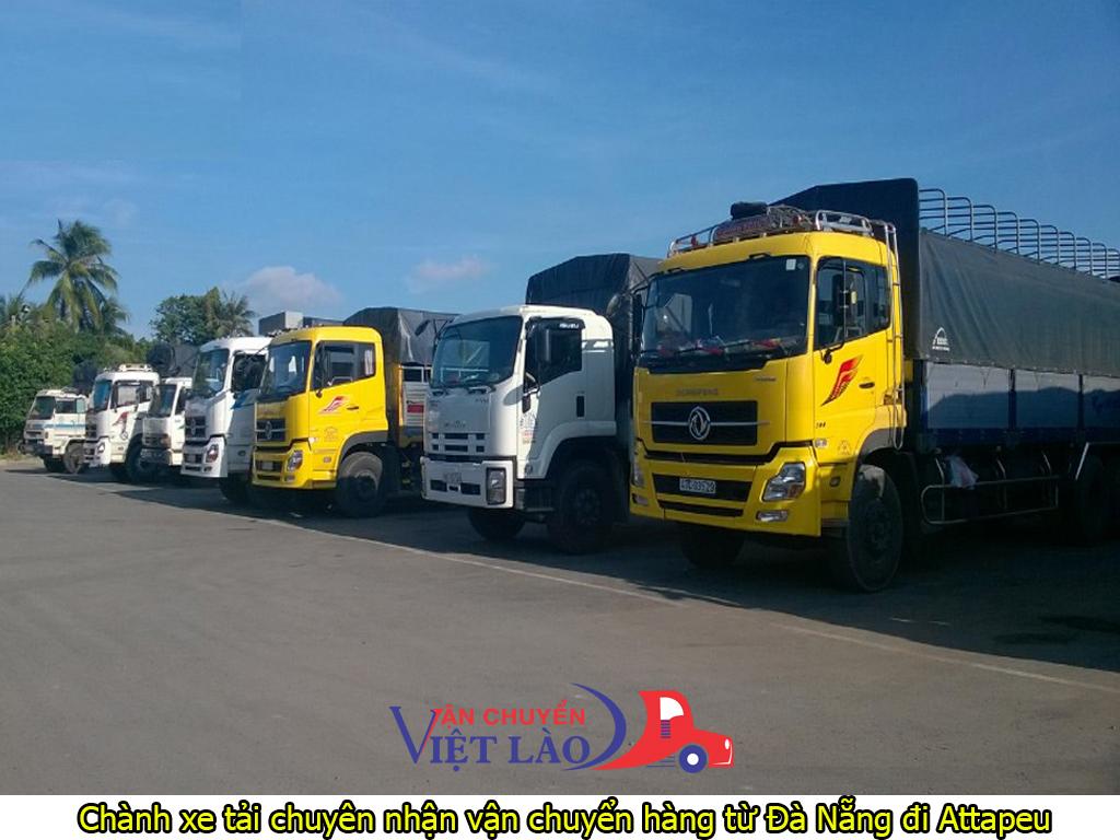 chành xe tải chuyên nhận vận chuyển hàng từ đà nẵng đi attapeu