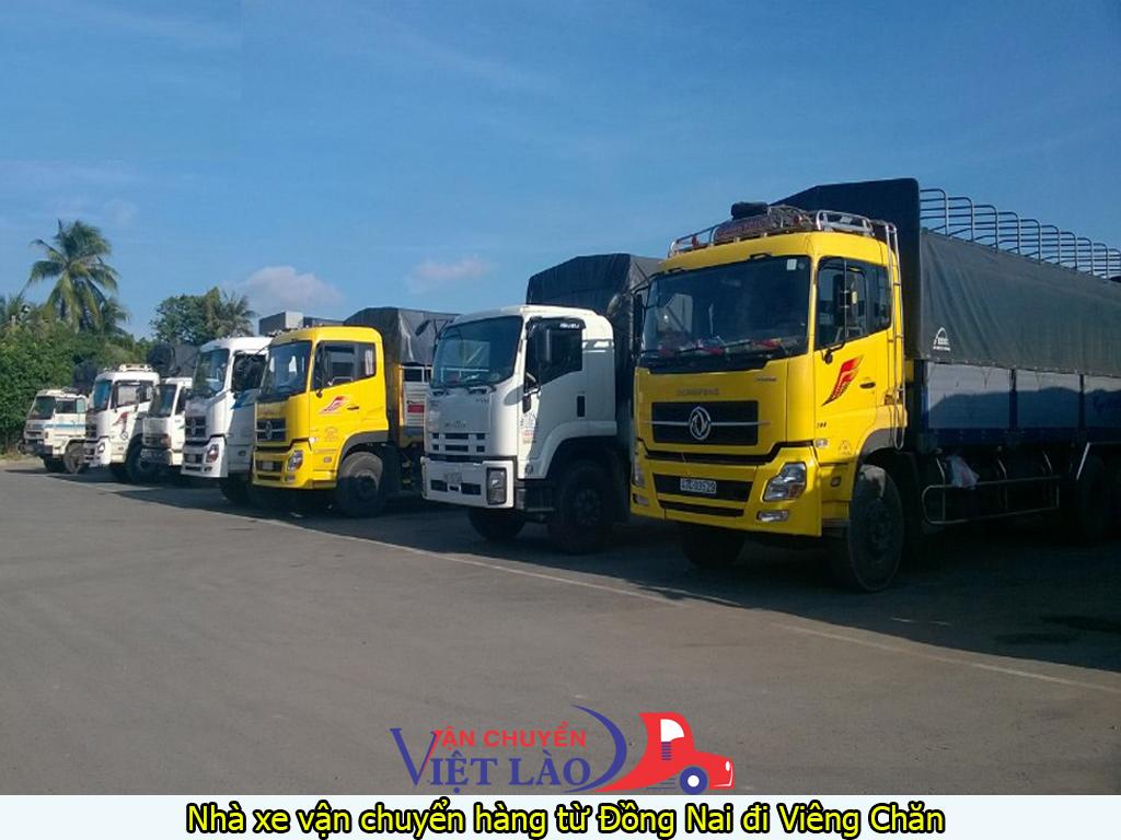 nhà xe vận chuyển hàng từ Đồng Nai đi Viêng Chăn