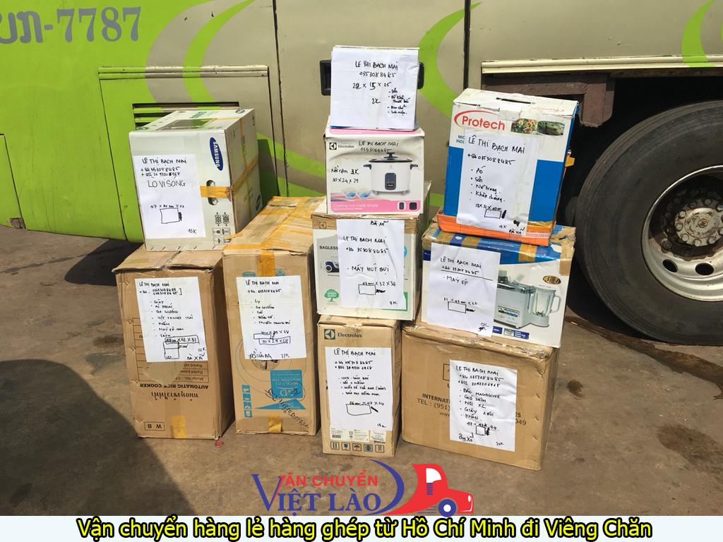 vận chuyển hàng lẻ hàng ghép từ hồ chí minh đi viêng chăn