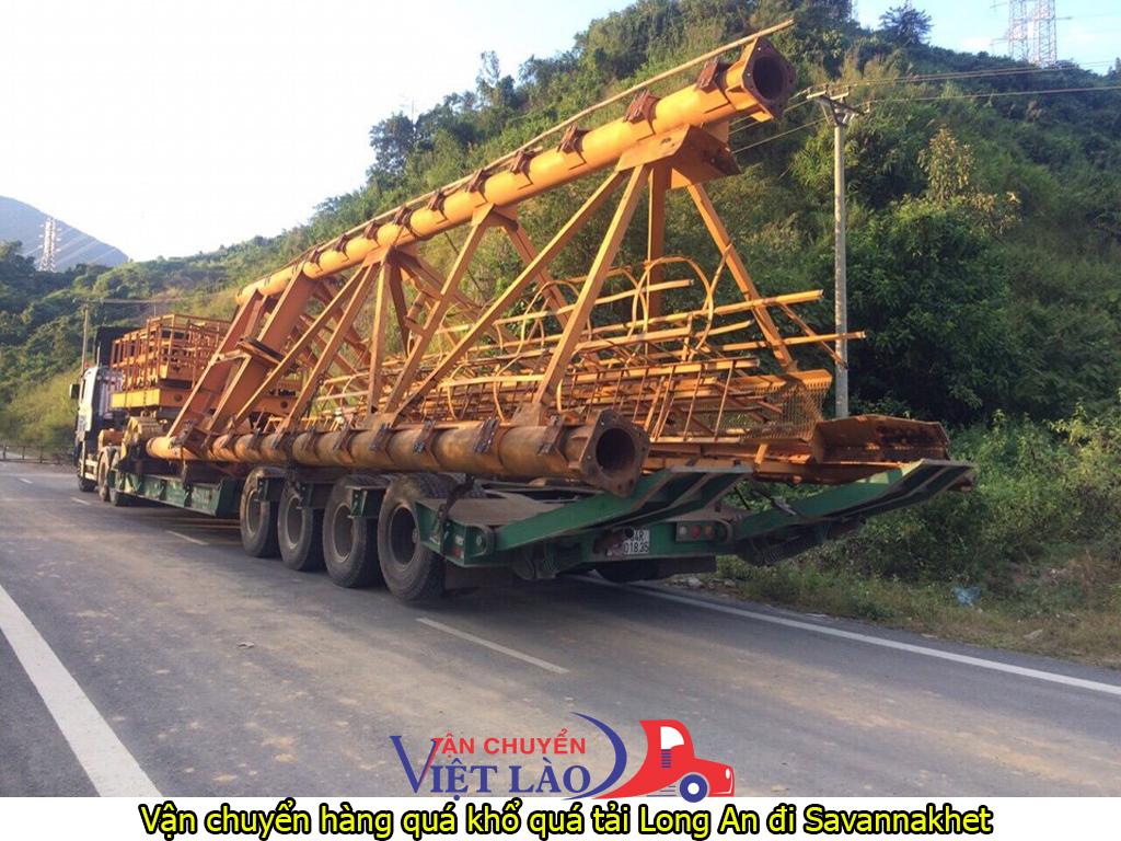 vận chuyển hàng quá khổ quá tải từ Long An đi Savannakhet