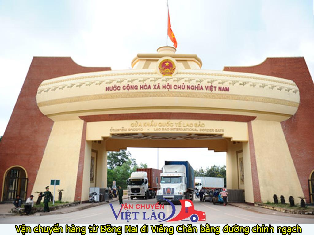vận chuyển hàng từ Đồng Nai đi Viêng Chăn bằng đường chính ngạch