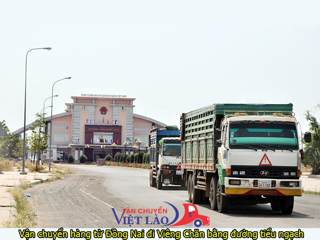vận chuyển hàng từ Đồng Nai đi Viêng Chăn bằng đường tiểu ngạch