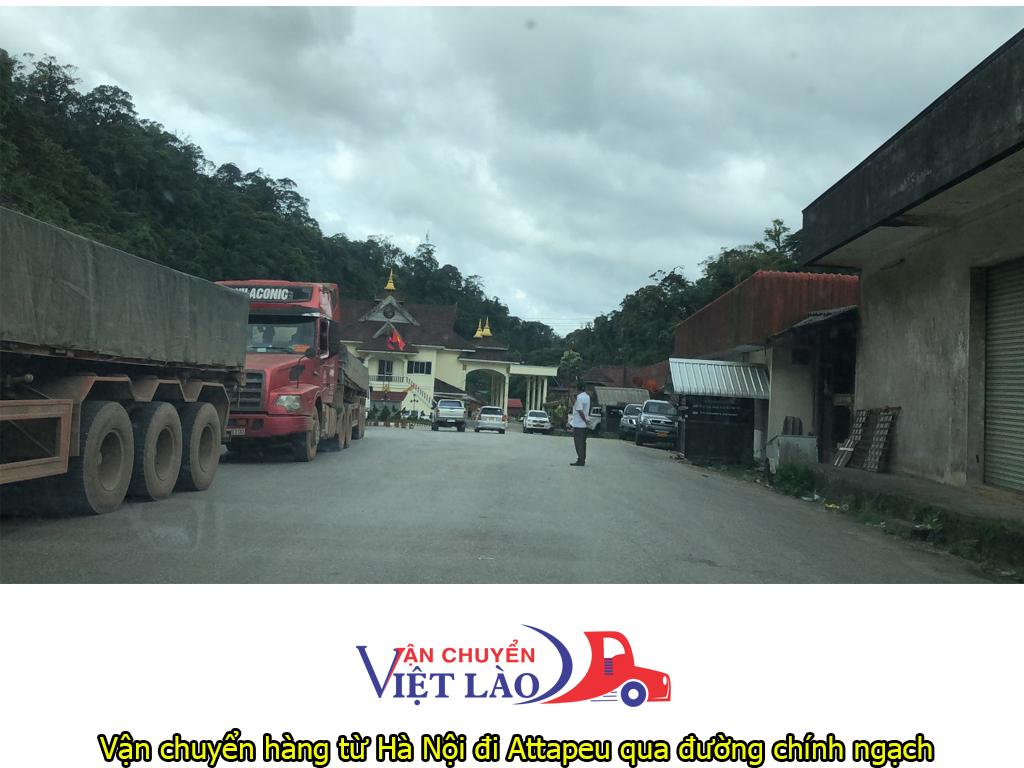 vận chuyển hàng từ Hà Nội đi Attapeu qua đường chính ngạch