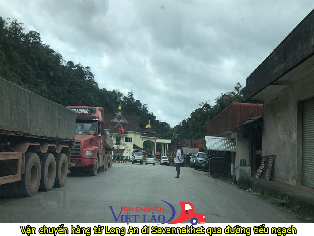 vận chuyển hàng từ Long An đi Savannakhet qua đường chính ngạch