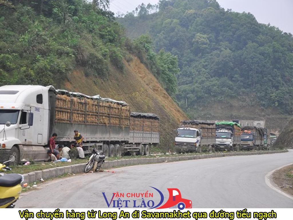 vận chuyển hàng từ Long An đi Savannakhet qua đường tiểu ngạch