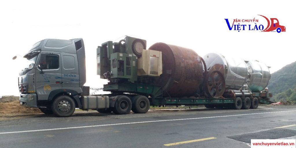 Vận chuyển hàng quá khổ đi Lào
