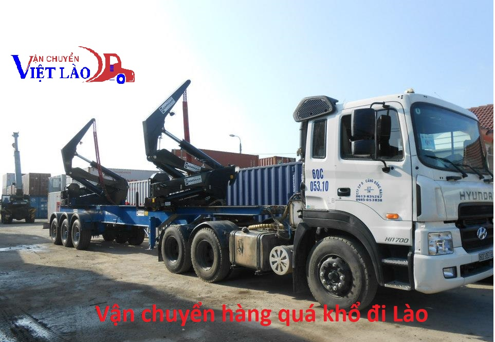 Vận chuyển hàng quá tải đi Lào