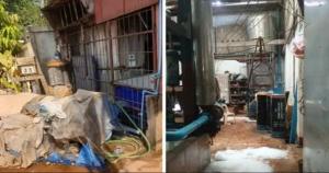 Đình chỉ xưởng sản xuất đá ở Lào