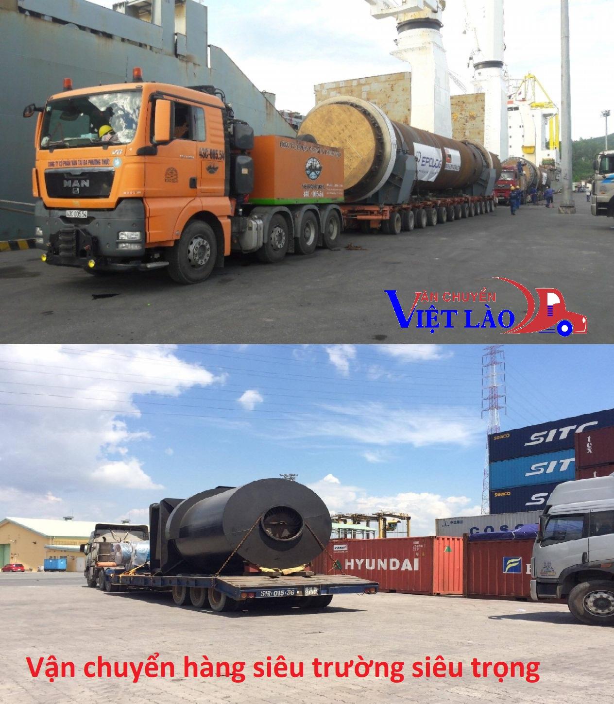 Vận chuyển hàng siêu trường siêu trọng đi Lào