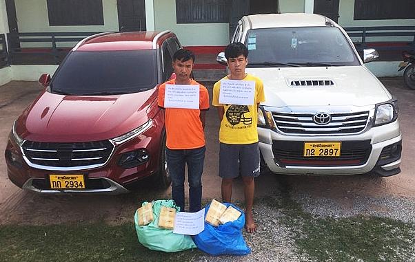 Triệt phá đường dây buôn bán ma túy cực khủng từ Lào sang Việt Nam