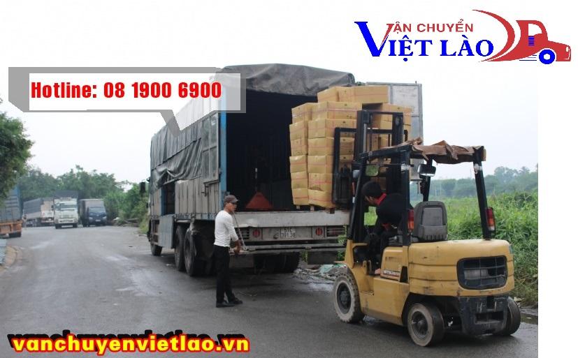 Chành xe vận chuyển hàng đi Lào