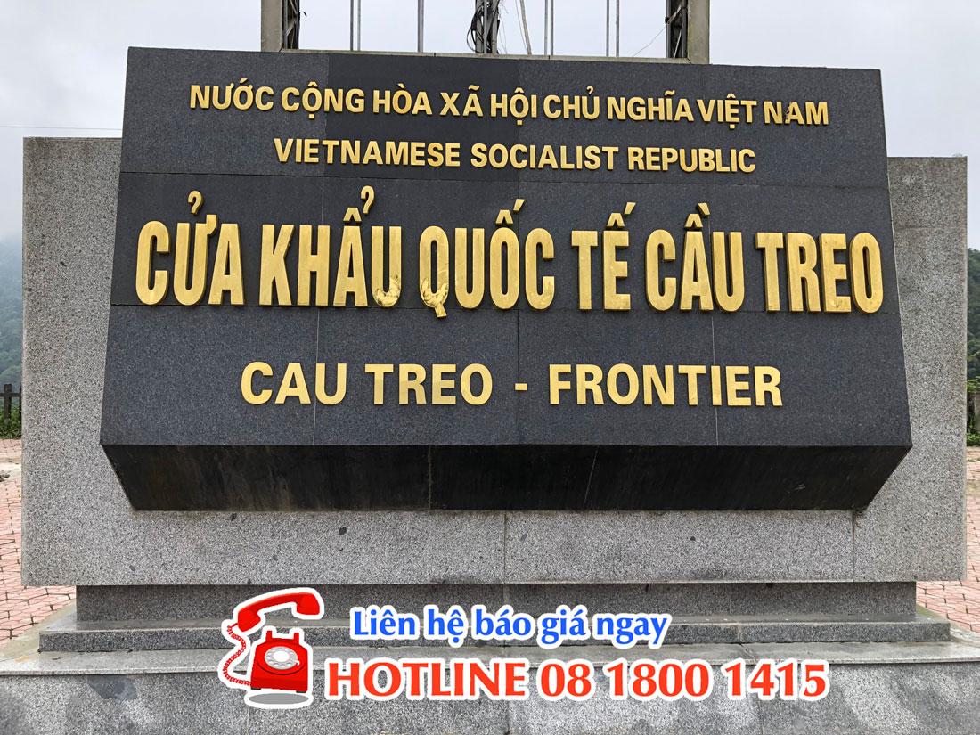Cửa khẩu quốc tế Cầu Treo - don-vi-van-chuyen-hang-di-lao-uy-tin