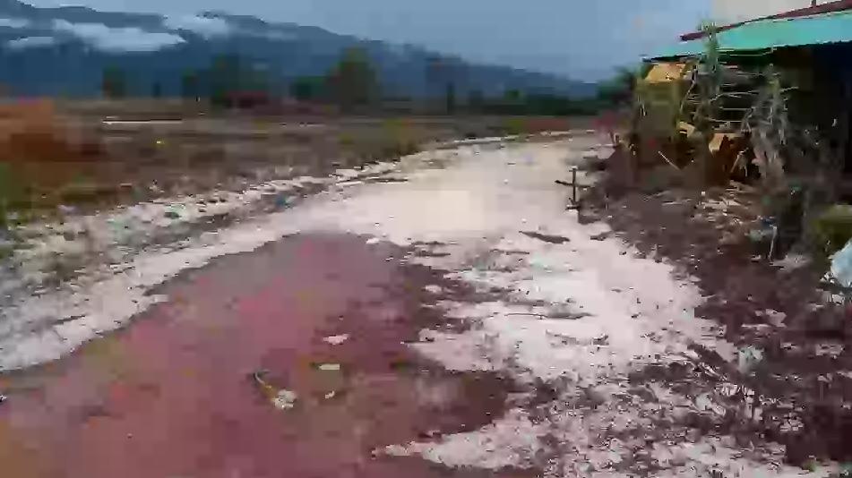Mưa đá tại Lào