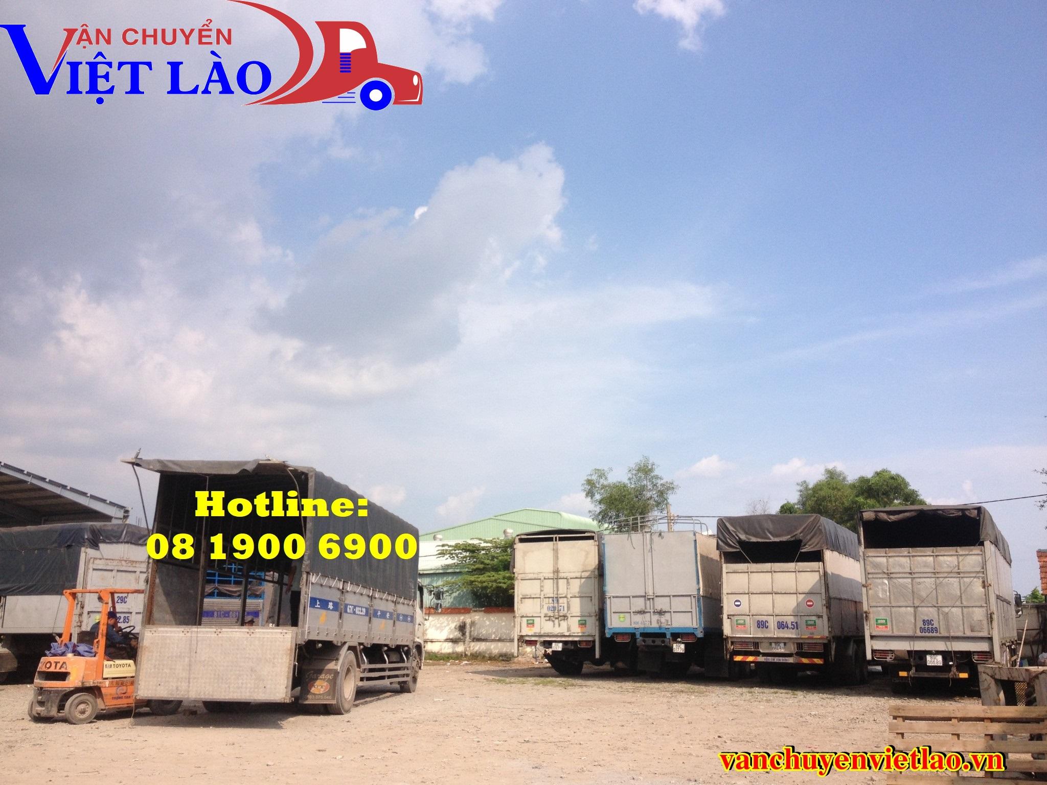 Vận chuyển hàng Hà Nội - Xiêng Khoảng