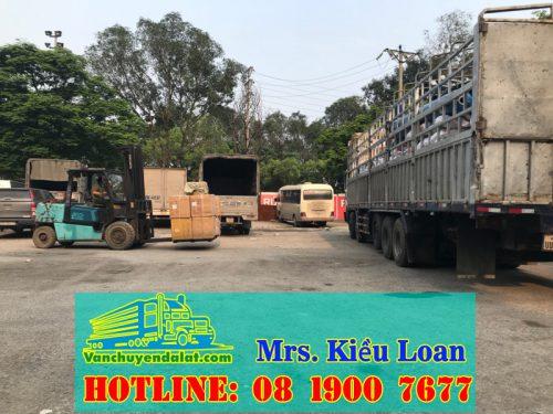 chuyển hàng đi Savan seno - Savannakhet Lào