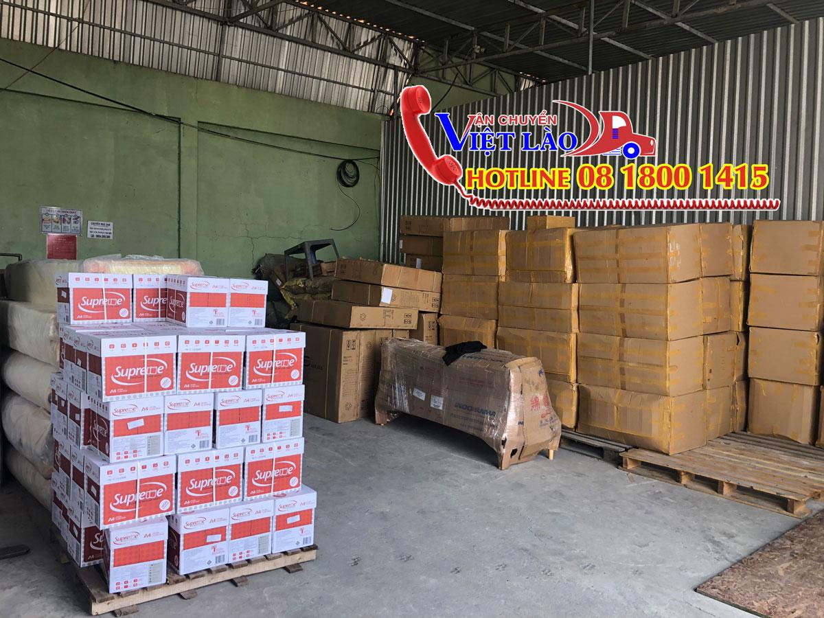 Nhà kho chuyển hàng đi Lào tại Hà Nội
