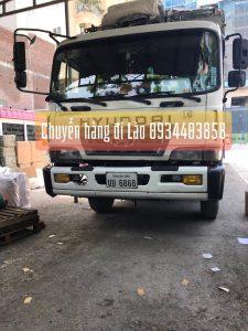 Chuyển hàng bao thuế đi Lào