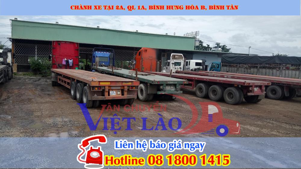 Chành xe gửi hàng di Lào