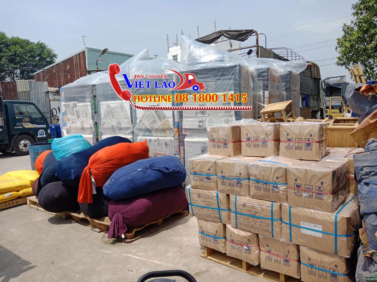 Chành xe gửi hàng đi Lào