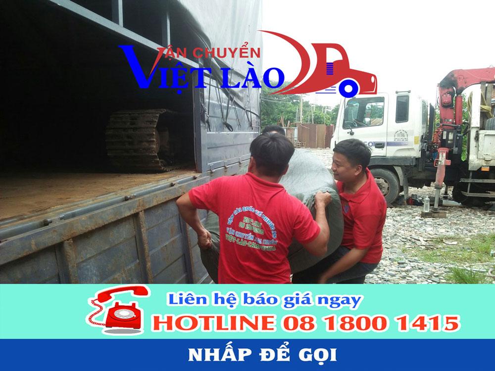 Chành xe tải đi Lào giá rẻ uy tín