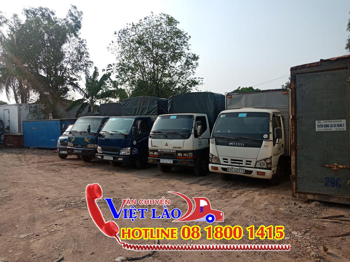 Công ty giao nhận vận tải hàng đi Lào