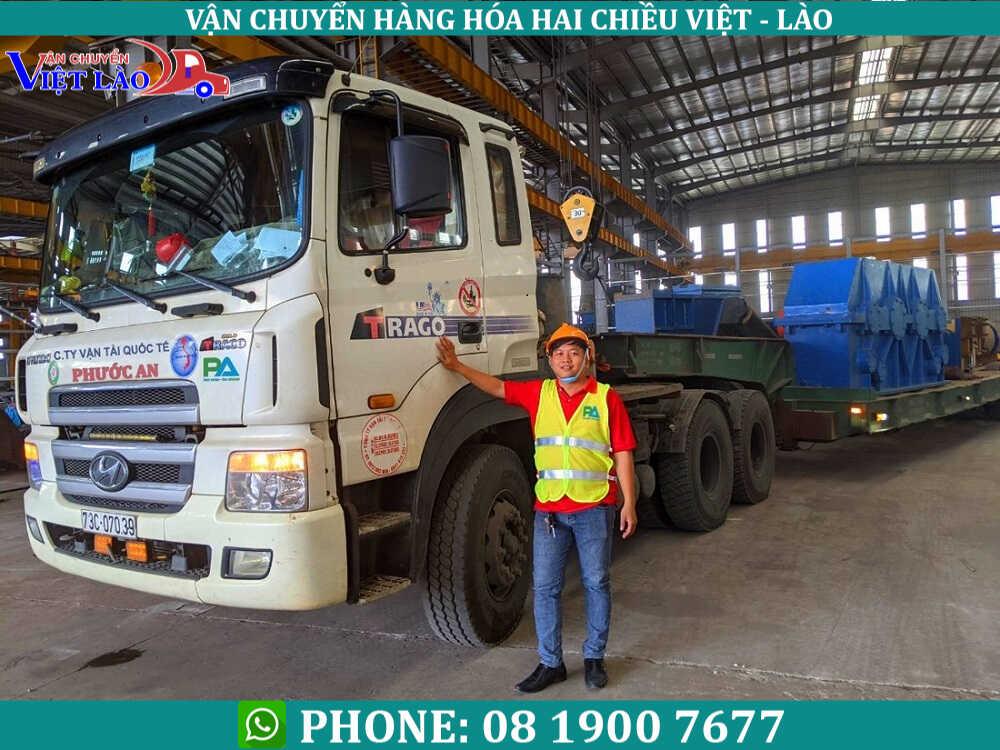 Dịch vụ vận chuyển hàng từ Hà Nội đi Viêng Chăn Lào