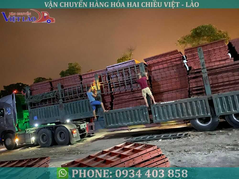Vận chuyển siêu trường siêu trọng đi Lào