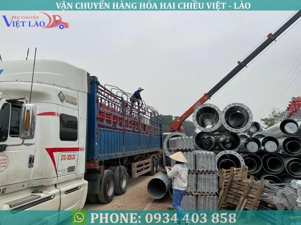 Chuyển hàng hóa Lào về Việt Nam