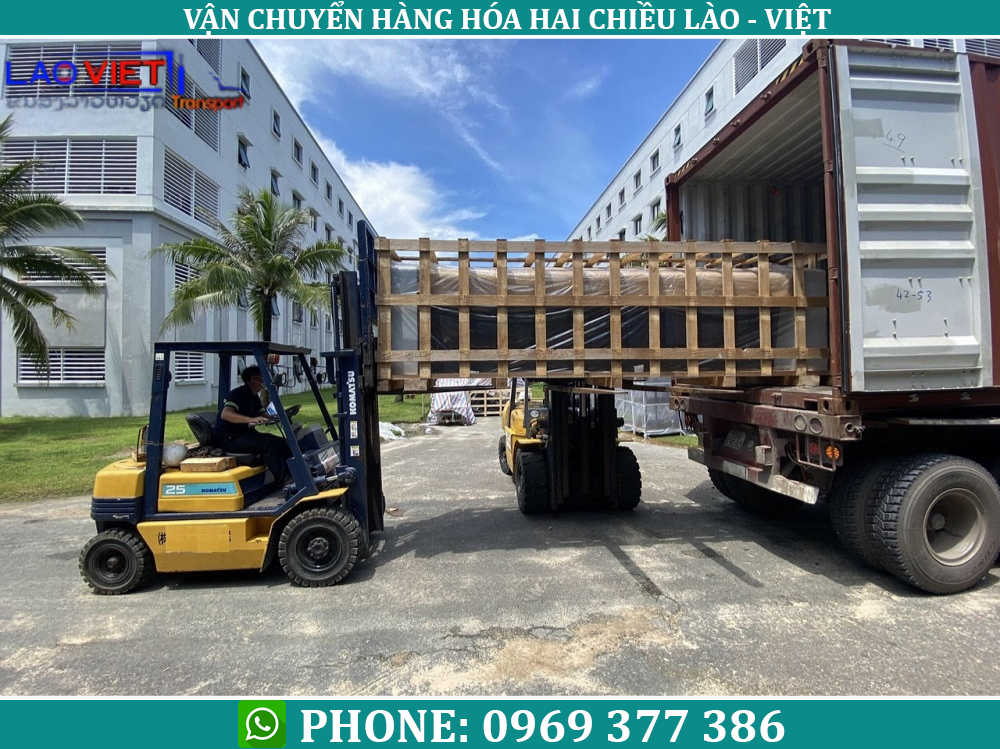 Vận chuyển hàng từ Bắc Ninh đi Lào