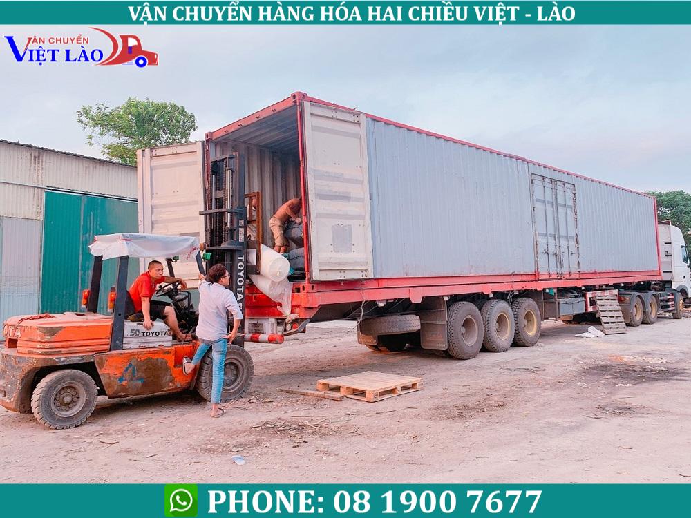 chuyển hàng Bắc Ninh đi Viêng Chăn Lào