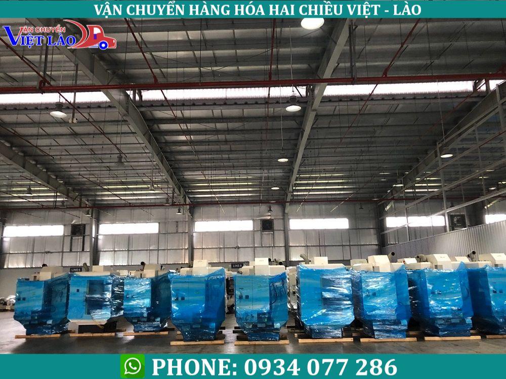vận chuyển hàng hóa đi Lào từ Hà Nội