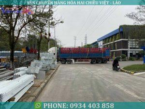 Vận chuyển chính ngạch đi Lào