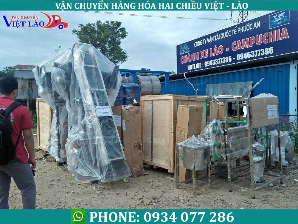 các lưu ý khi vận chuyển hàng đi Lào từ Hà Nội