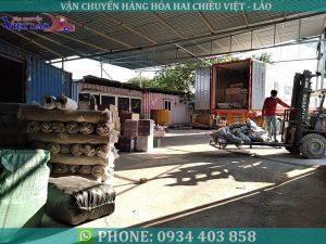 Thủ tục xuất khẩu hàng hóa đi Lào