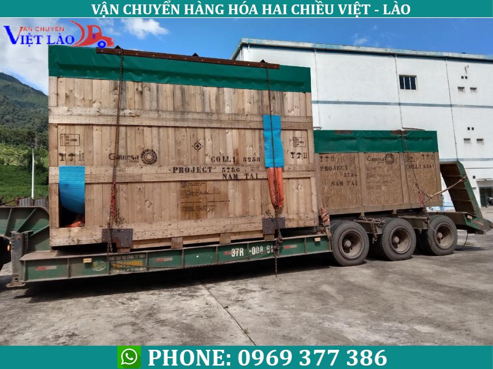 Vận tải hàng đi Lào giá rẻ-nhanh chóng–tiết kiệm