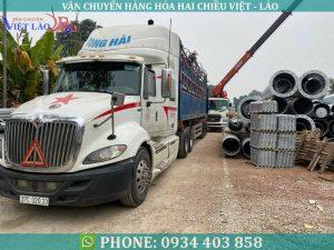 Công ty chuyên vận chuyển hàng hóa quá khổ quá tải đi Lào