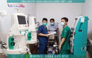 Vận chuyển thiết bị y tế đi Lào