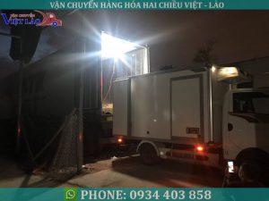 chuyển hàng đông lạnh đi Lào