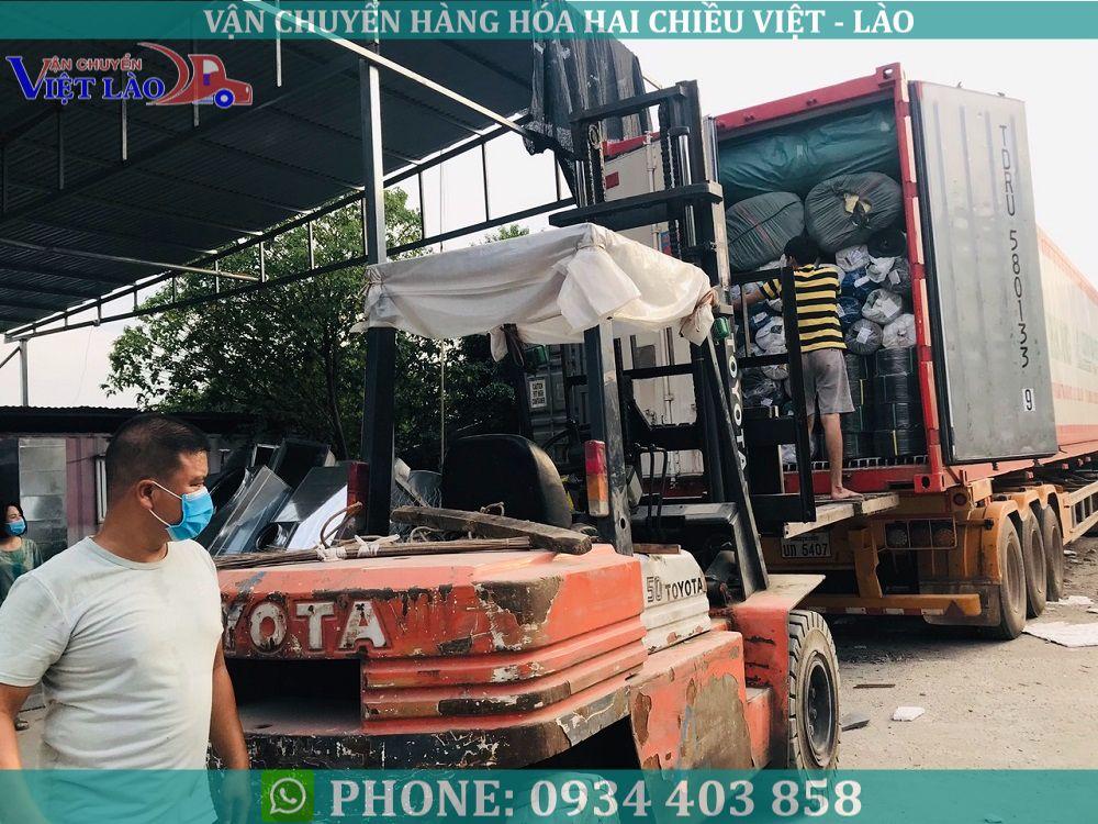 vận tải hàng đi Lào từ Hà Nội