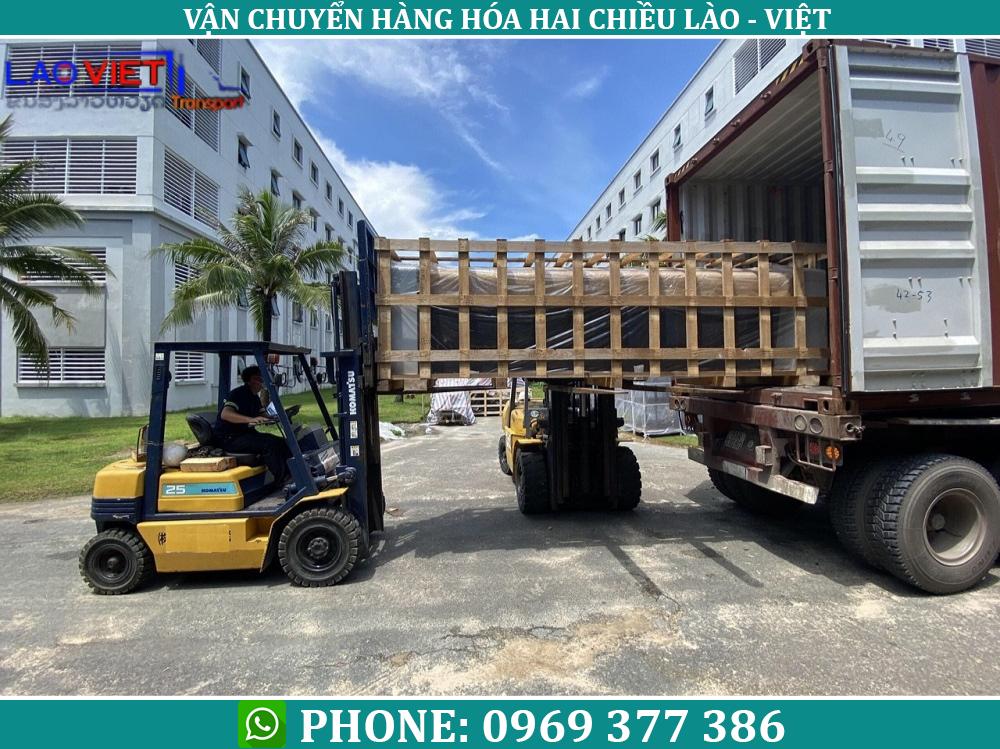 Vận chuyển hàng nội thất từ Hà Nội đi Lào