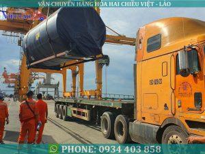 Vận chuyển hàng máy móc công nghiệp đi Lào