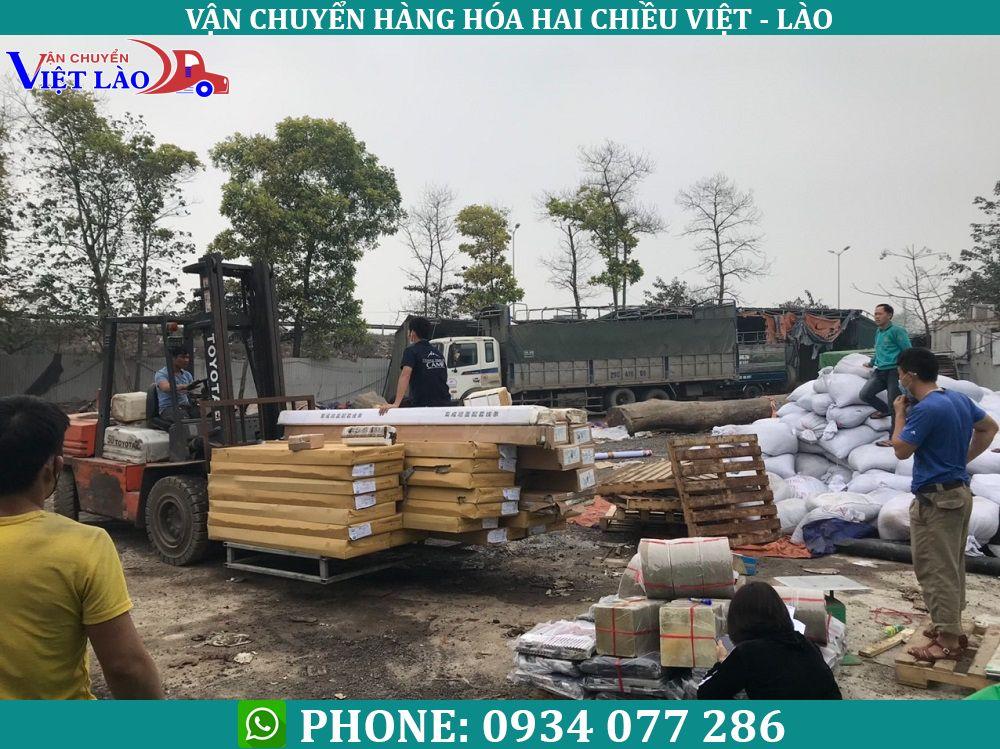 vận chuyển hàng hóa đi Viêng Chăn Lào siêu tốc