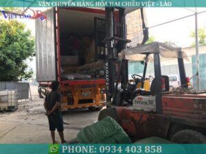 Vận tải hàng đi Lào